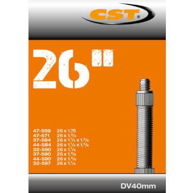 CST binnenband 26 Inch Hollands DV 40mm Geschikt voor bandenmaten: 26x1 3/8 /47