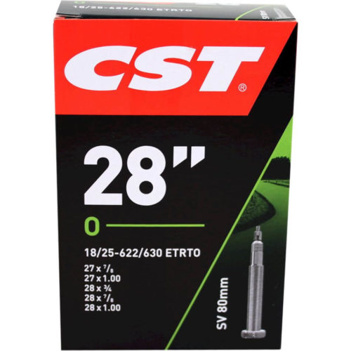 CST racefiets binnenband 28 Inch Frans ventiel 80mm
