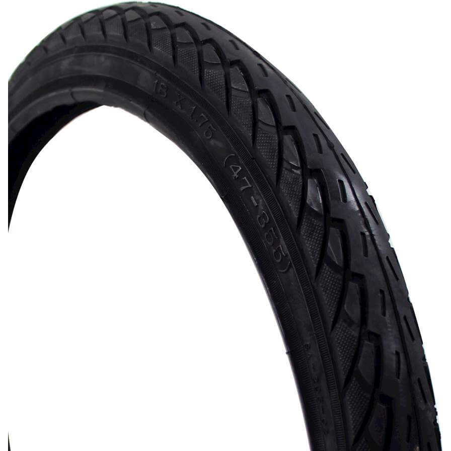 Deli Tire buitenband 18x175 S206 zwart