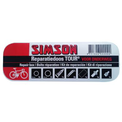 Ga goed voorbereid op weg met deze Simson Reparatiedoos Tour