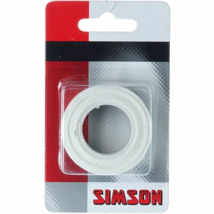 Simson Plakvelglint 15mm beschermt de binnenband tegen lekkage veroorzaakt door de spaken