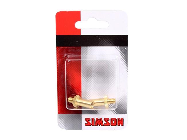 Simson verloop ventielen frans