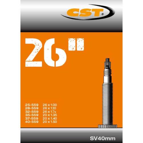 CST binnenband 26 Inch Frans SV 40mm Geschikt voor bandenmaten: 26x1