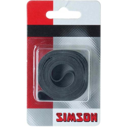 Simson Velglintrubber 16mm beschermt de binnenband tegen lekkage veroorzaakt door de spaken
