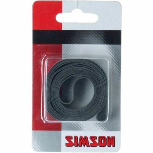 Simson Velglintrubber 20mm beschermt de binnenband tegen lekkage veroorzaakt door de spaken