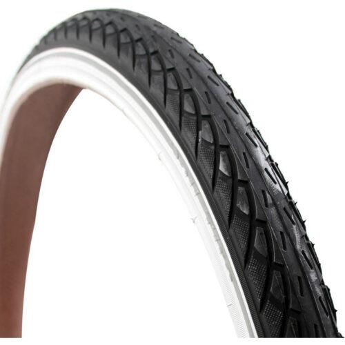 Deli Tire buitenband 24x175 S206 reflectie zwart/wit