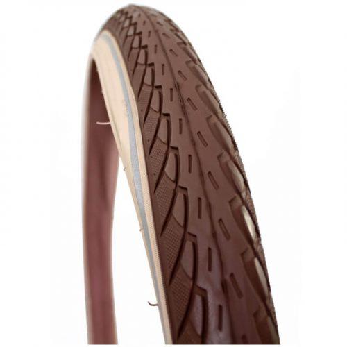 Deli Tire buitenband 26x175 S206 reflectie bruin/creme
